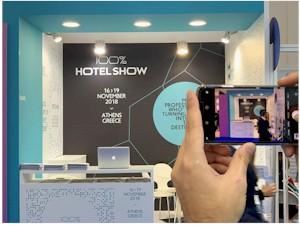 Εικόνες από τη συμμετοχή του 100% Hotel Show στην WTM Λονδίνου