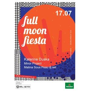 17 λόγοι που η Full Moon Fiesta είναι η απόλυτη καλοκαιρινή γιορτή στην Τεχνόπολη Δήμου Αθηναίων