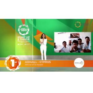 JA Εurope Enterprise Challenge 2020: Πρώτο βραβείο στην Κύπρο και την κοινωνική επιχείρηση «Aid4All»