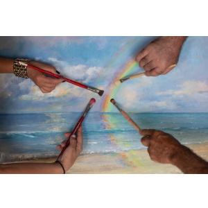 «Διάθλαση Φωτός»: Μια άκρως καλοκαιρινή έκθεση ζωγραφικής